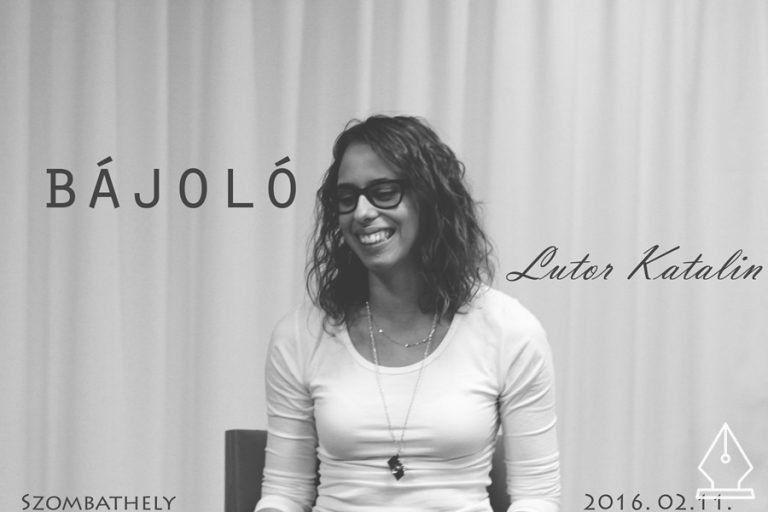 Egy lány, aki mindig mosolyog ‒ Bájoló Lutor Katalinnal