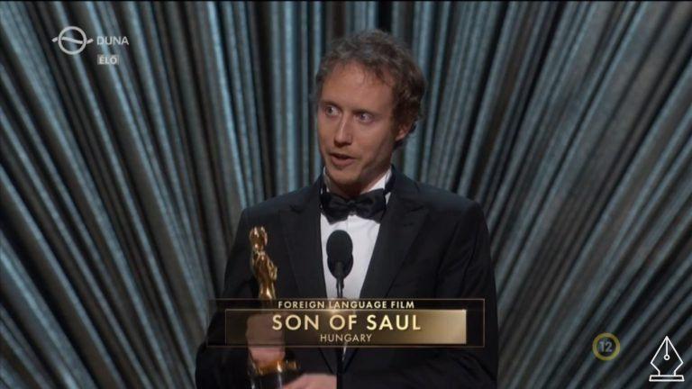 Ott van! A Saul fia a legjobb idegennyelvű Oscar-díj győztese.