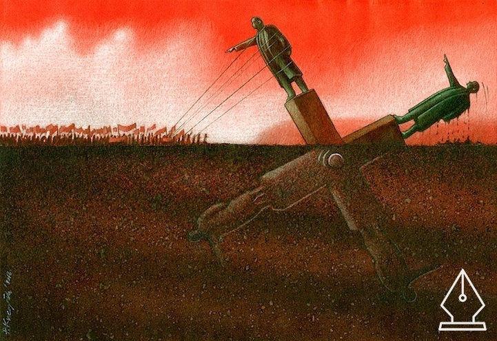 A lengyel művész, akinek szatirikus rajzai többet mondanak minden szónál