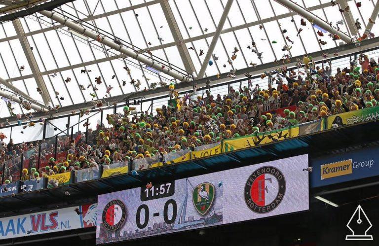A kemény szurkolóknak is van szívük – nagyszerű gesztus egy holland focimeccsen