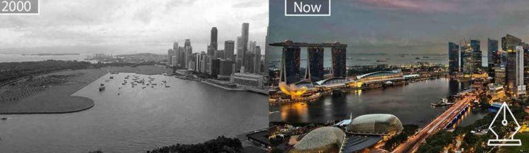 13 város, ami pár évtized alatt hatalmas változáson ment keresztül