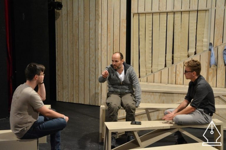 """""""A színház ilyen: az a szépsége és félelmetessége, hogy a jelenben történik!""""- Interjú Horgas Ádámmal"""