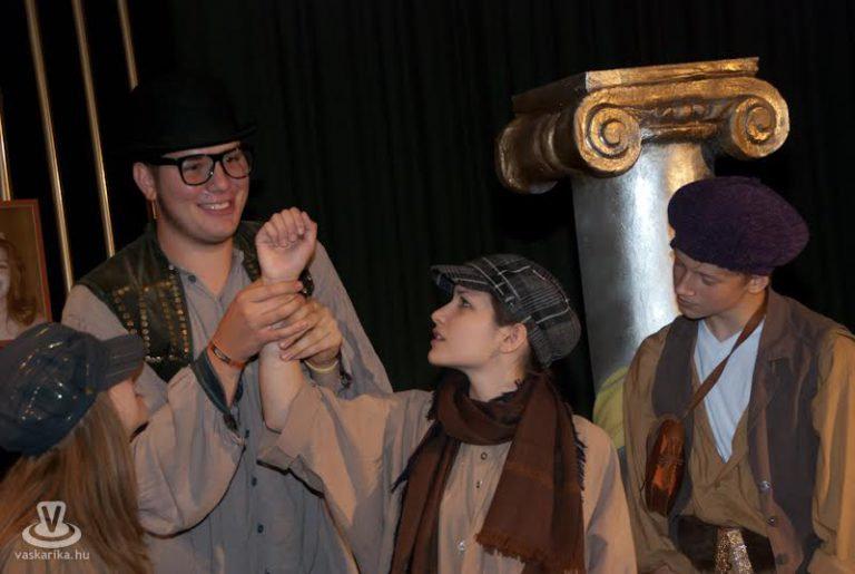 A körmendi színjátszás – Aranyhaj premier