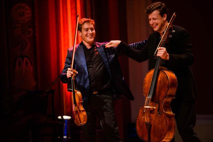 A karmester, aki hegedűművész és a csellista, aki minden – Baráti Kristóf és Várdai István koncertje