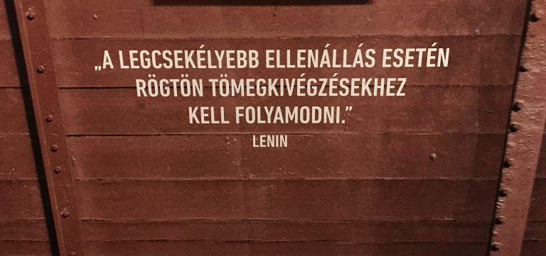 Az akció fedőneve: Lenin – időszaki kiállítás a Terror Házában