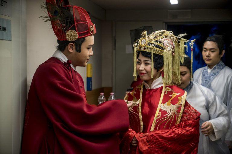 Kínai operajáték a Solti Terem színpadán