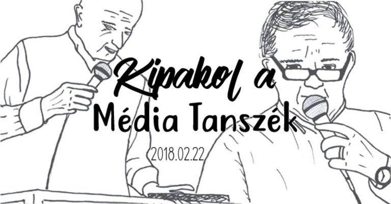 Kipakol a Média Tanszék – Programajánló