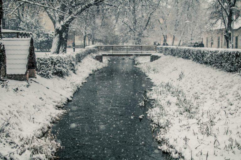 Lírai hóhelyzet van Szombathelyen