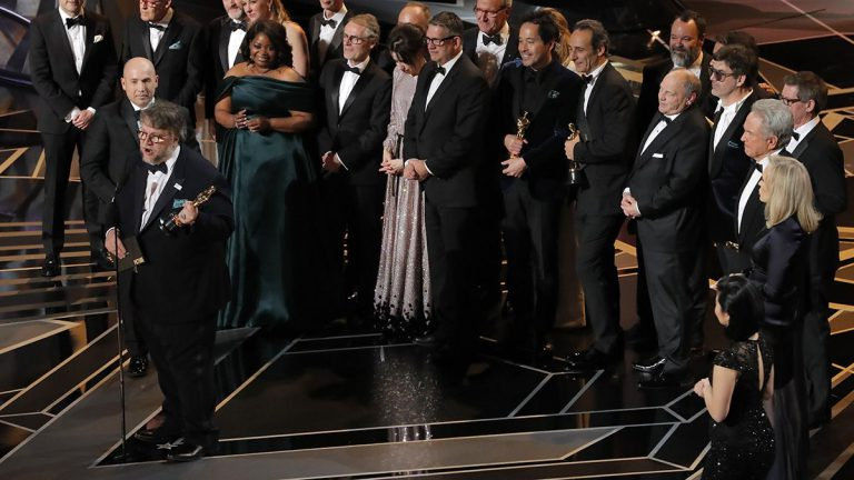 90. Oscar-gála: A víz érintése lett a legjobb film, elmaradt a magyar siker