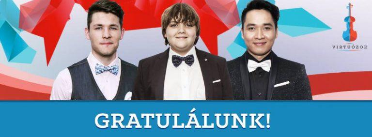 Virtuózok – Vége a döntőnek, kihirdették a finalistákat