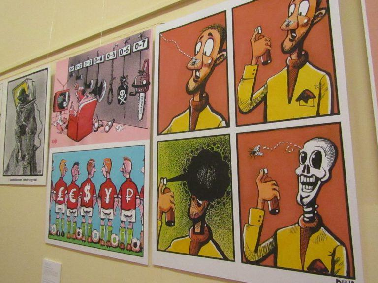 Fityiszt a világnak – Grafityisz kiállítás a Széchényi Könyvtárban