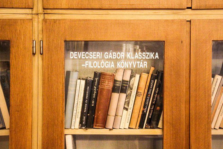 Szunnyadó hagyaték – Devecseri Gábor könyvtára a szombathelyi egyetemen