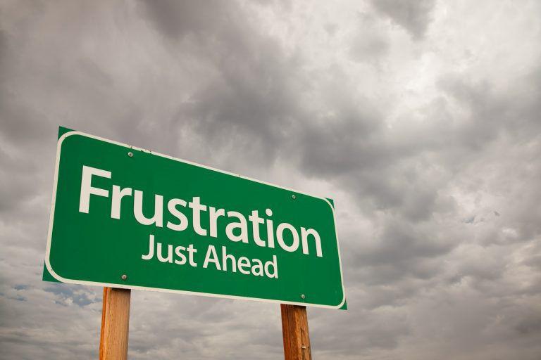 #áthatás – Frusztráció