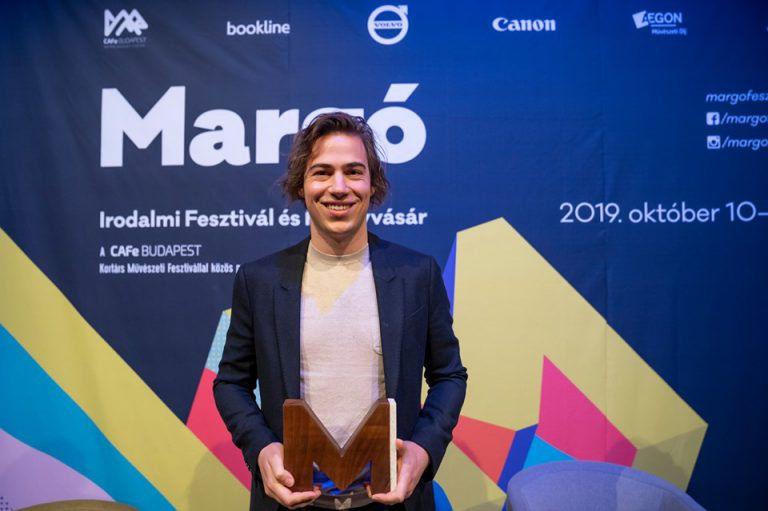 Fehér Boldizsár lett az idei Margó-díjas