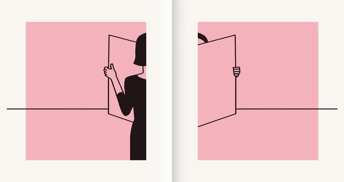 Christoph Niemann illusztrációja a The Paper című albumból
