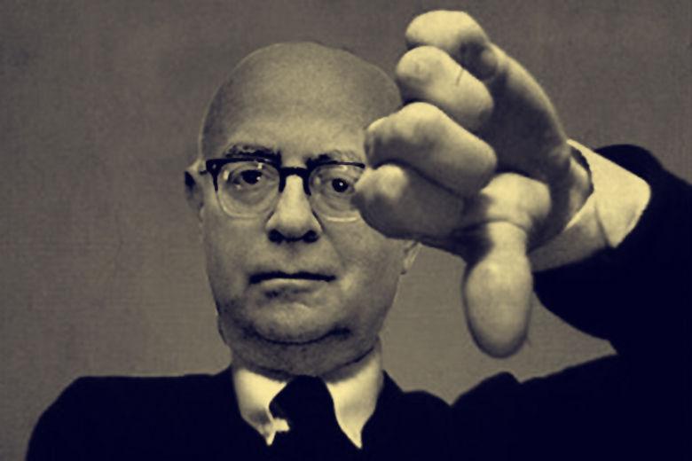 Theodor Adorno. Forrás: the-tls.co.uk
