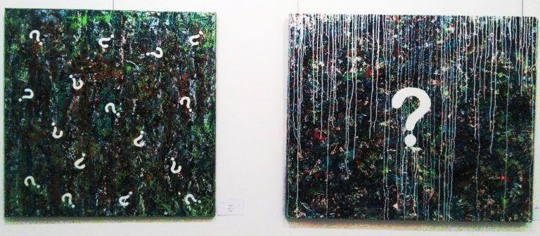 Káosz és rend a kozmoszban – Áder Orsolya festményei