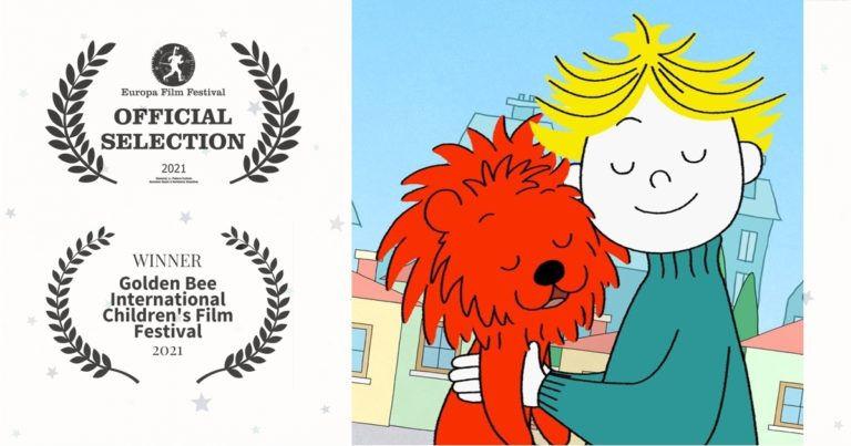 Magyar mesekönyvből díjnyertes animáció – Hódít a Laci és az oroszlán