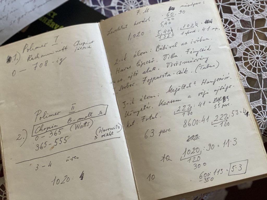 a Pilinszky-kézirat