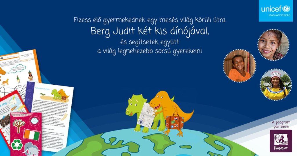 Magyar gyerekkönyvszerző meséivel kampányol az UNICEF Magyarország