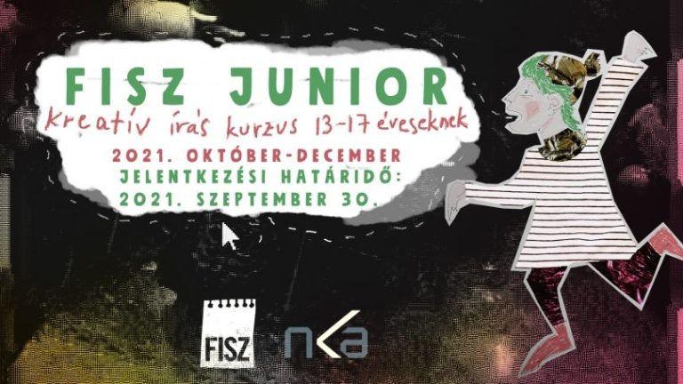 Kreatív írás tiniknek – Indul a FISZ Junior program