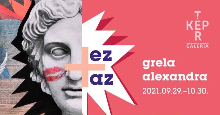 """""""ez + az"""" – Grela Alexandra illusztrátor kiállítása a Tér-Kép Galériában"""