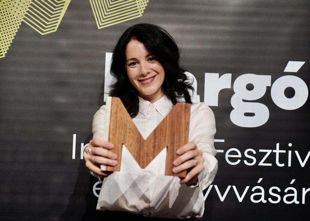 Halász Rita kapta a 2021-es Margó-díjat!
