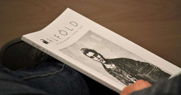 Halmai Tamás verse az Alföld folyóirat Pilinszky számában